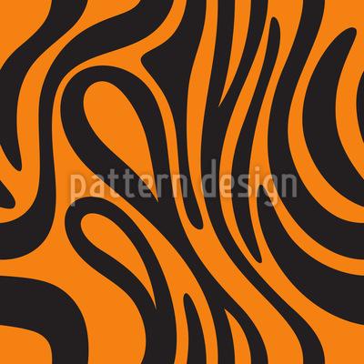 Tiger Skin Pattern Design