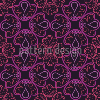 Filigree Jewelry Seamless Vector Pattern