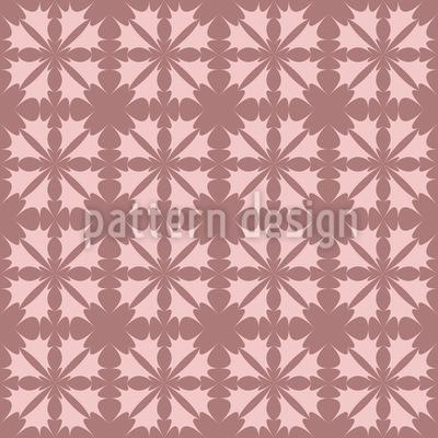 Blazing Flower Romance Pattern Design