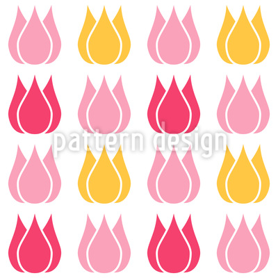 Total Tulip Seamless Pattern