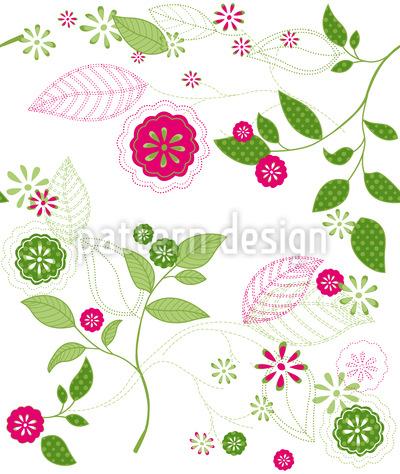 Frühlingserwachen Vektor Muster