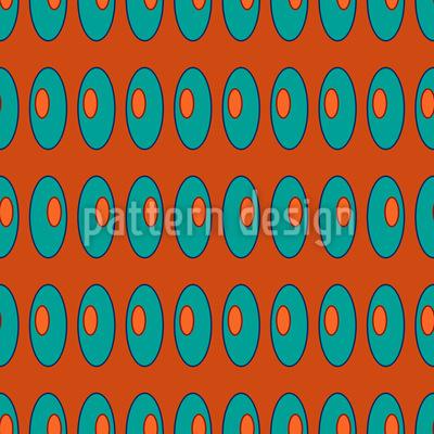 Ellipsen Links Rechts Links Muster Design