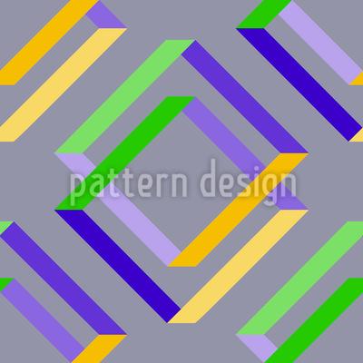 Square Delusion Repeat Pattern