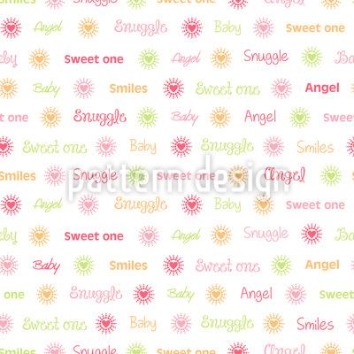 Mein Kleines Engelein Musterdesign