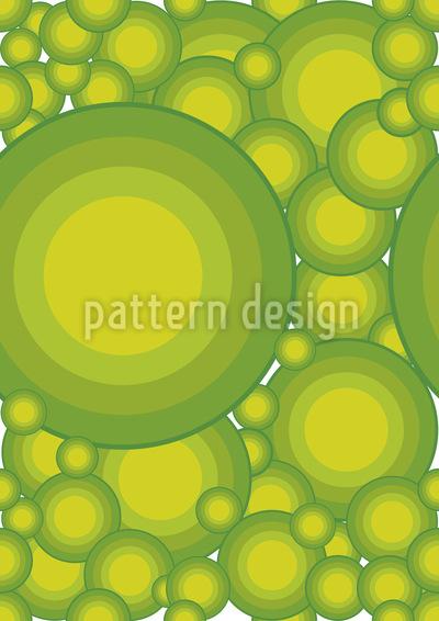 Zitrus Kreise Vektor Design