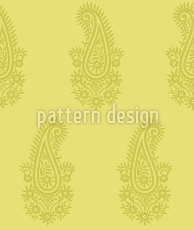 Paisley Spring Repeat Pattern