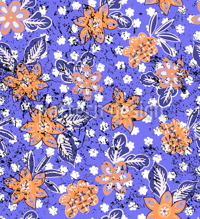Tropical Floral Print Pattern Design