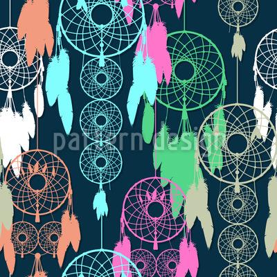 I Am A Dream Catcher Pattern Design