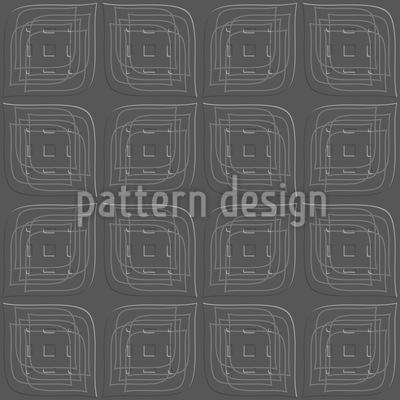 Blätter Zum Quadrat Vektor Muster