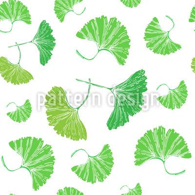 Ginkgo Blätter Designmuster