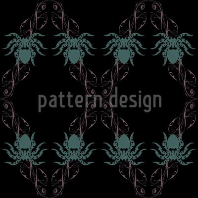 Tarantula Vektor Ornament