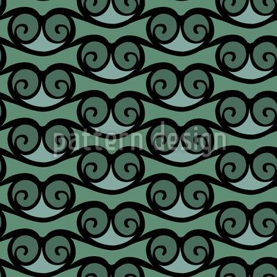 Das Spiel Der Wellen Nahtloses Muster