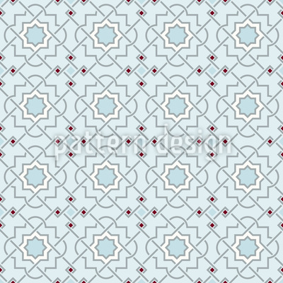 Arabic Winter Pattern Design