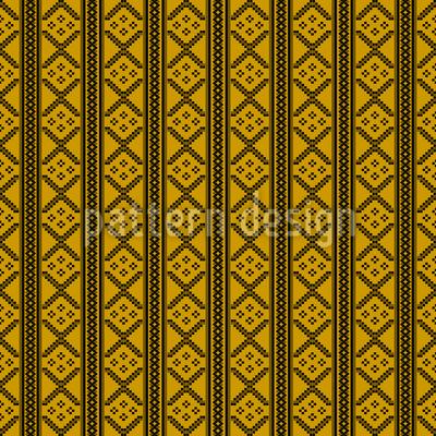 Stitch And Stripe Vector Design