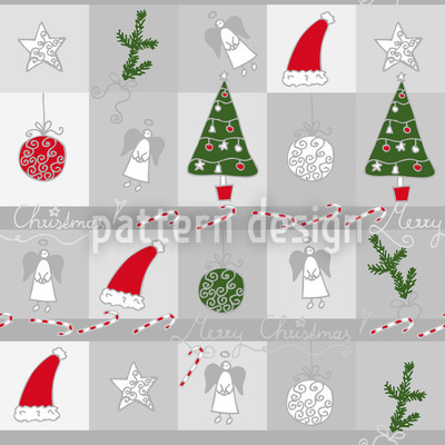 Christmas Dream Repeat Pattern