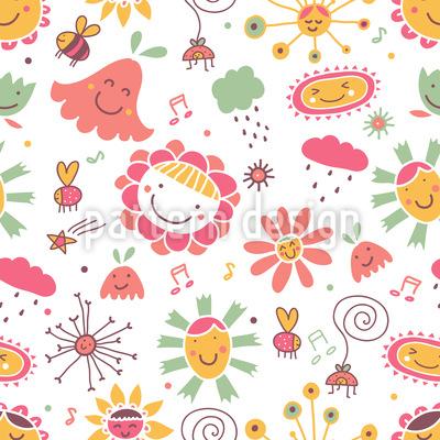 Das Lied Der Blumen Musterdesign