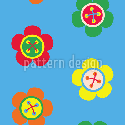 Flower Buttons Design Pattern