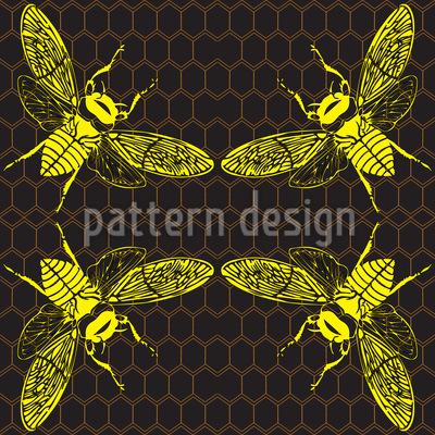 Honig Bienchen Designmuster
