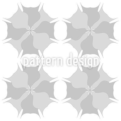 Blasse Blümchen Muster Design