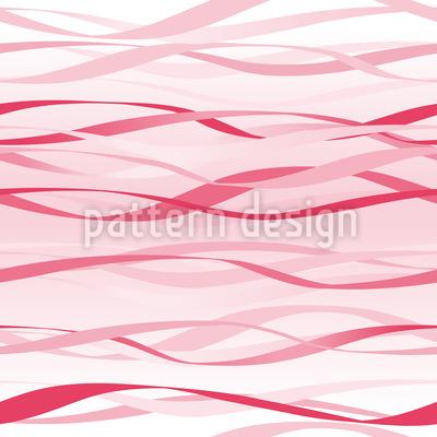 Rote Wellen Vektor Ornament