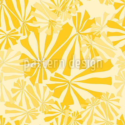 Sunflower Burst Repeat Pattern