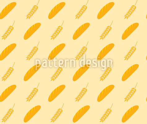 Bread And Spike Vector Design