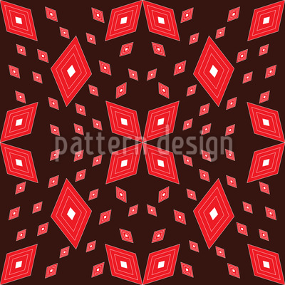 Matrix Of Rhombs Seamless Pattern