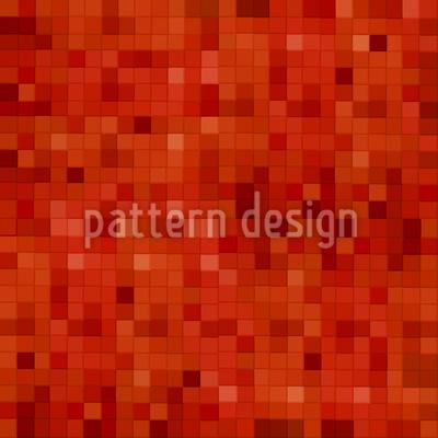 Heisses Mosaik Nahtloses Vektor Muster