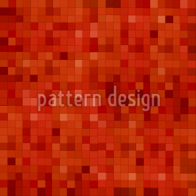Hot Mosaic Seamless Vector Pattern