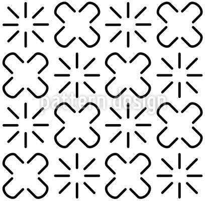 Afrikanische Zeichensprache Nahtloses Muster