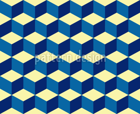 Cube Seamless Vector Pattern