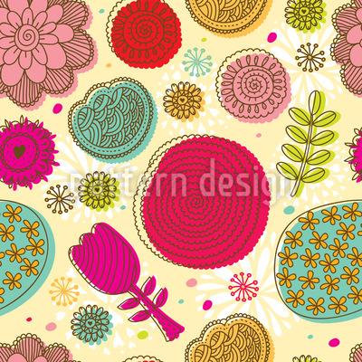 Gekritzel Blumen Vektor Design