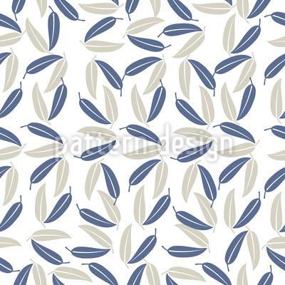 Hawaiianische Blätter Muster Design