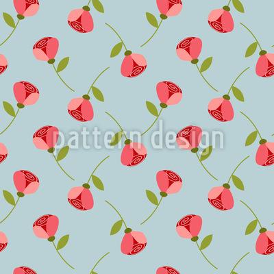 Kleine Röschen Musterdesign
