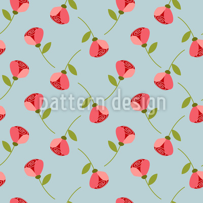 Tiny Roses Pattern Design