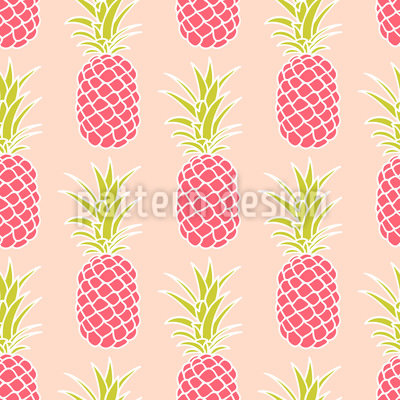 Pineapple Sunset Vector Design