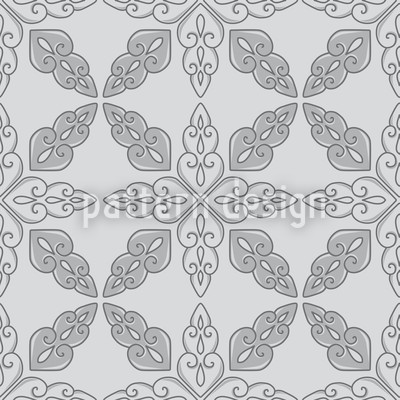 Moroccan Grey Repeat Pattern