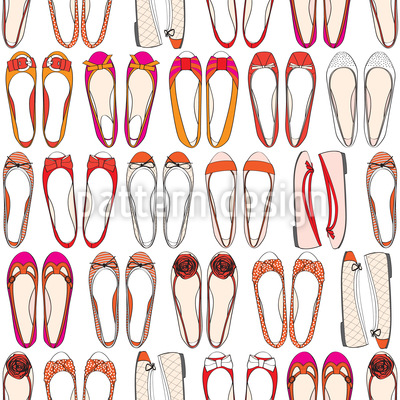 Ballerina Collection Vector Pattern