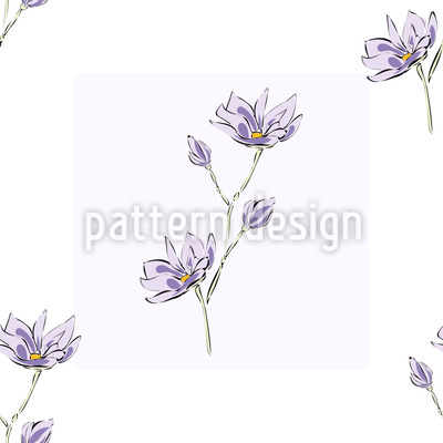 Magnolienblüten Quadrate Vektor Design