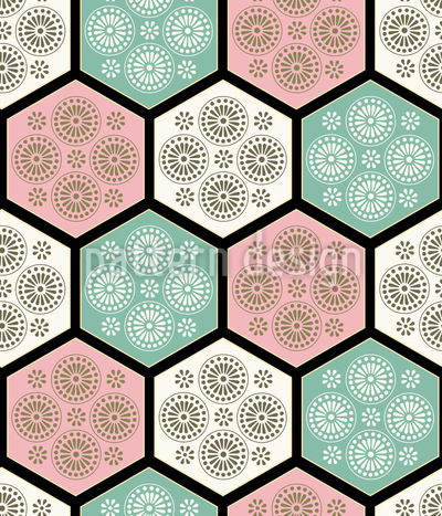 Japanese Tiles Vector Design
