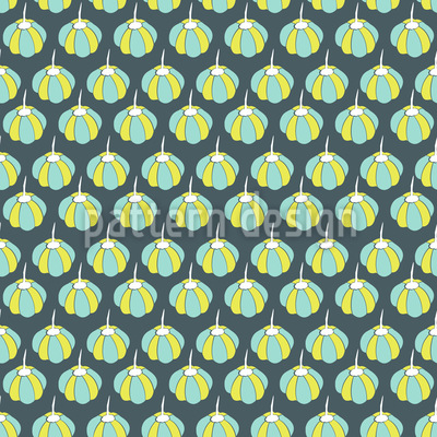 Pumpkin Or Balloon Seamless Vector Pattern