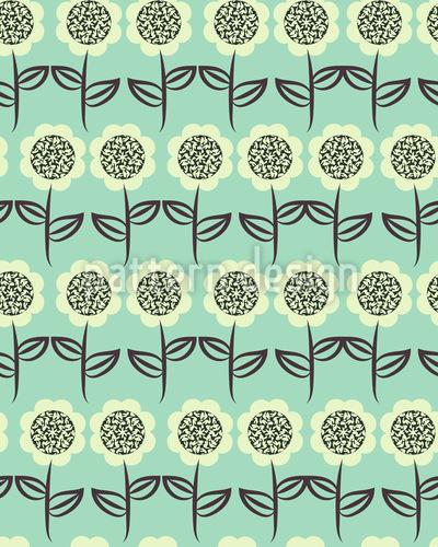 Sonnenblumen Reihen Vektor Design