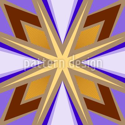 Verbundene Sterne Muster Design