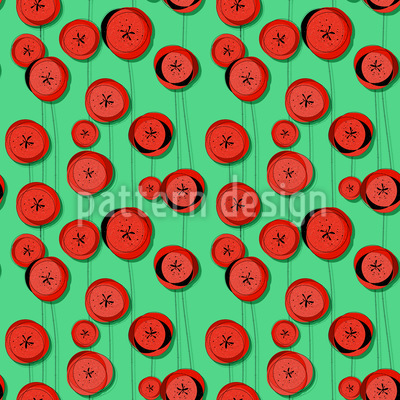 Poppy Flowers In May Vector Design