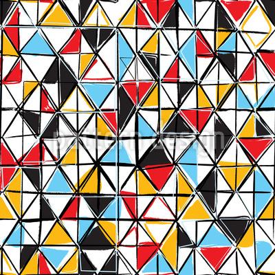 Dreieck Facetten Rapportmuster