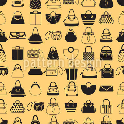Handbag Addict Pattern Design