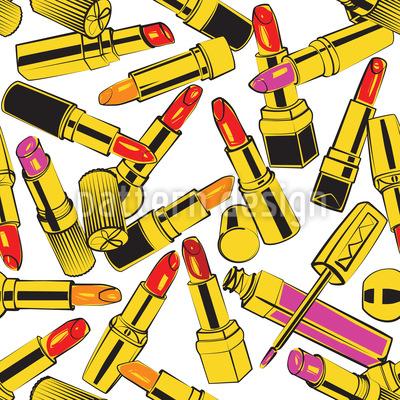 Lippenstift Obsession Vektor Design