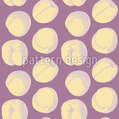 Aprikosen Muster Design