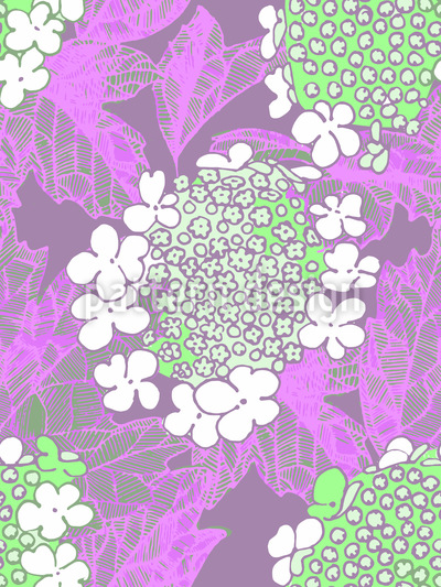 Schneeballblüte Musterdesign