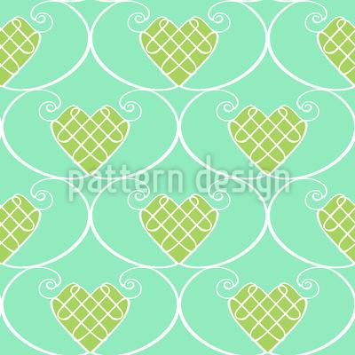 Gingerbread Hearts Vector Design